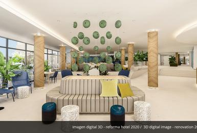 Interiores- Reformado en 2020 Hotel AluaSoul Palma (Solo Adultos) Cala Estancia, Mallorca