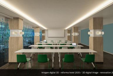 Sala de reuniones- Reformado en 2020 Hotel AluaSoul Palma (Solo Adultos) Cala Estancia, Mallorca