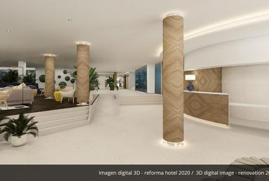 Lobby- Reformado en 2020 Hotel AluaSoul Palma (Solo Adultos) Cala Estancia, Mallorca