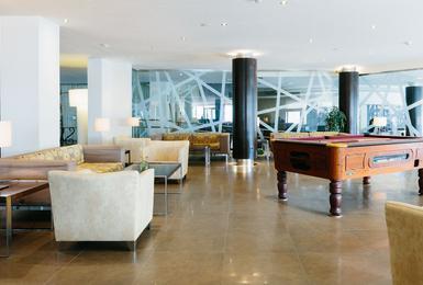Lobby Hotel AluaSoul Palma (Solo Adultos) Cala Estancia, Mallorca