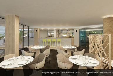 Bar- Reformado en 2020 Hotel AluaSoul Palma (Solo Adultos) Cala Estancia, Mallorca