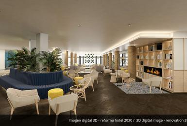 Zonas comunes- Reformado en 2020 Hotel AluaSoul Palma (Solo Adultos) Cala Estancia, Mallorca