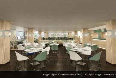 Restaurante buffet- Reformado en 2020 Hotel AluaSoul Palma (Solo Adultos) Cala Estancia, Mallorca